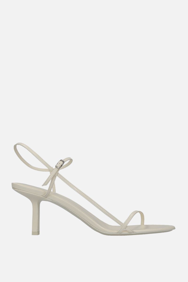 THE ROW: Bare sandals in smooth leather_1
