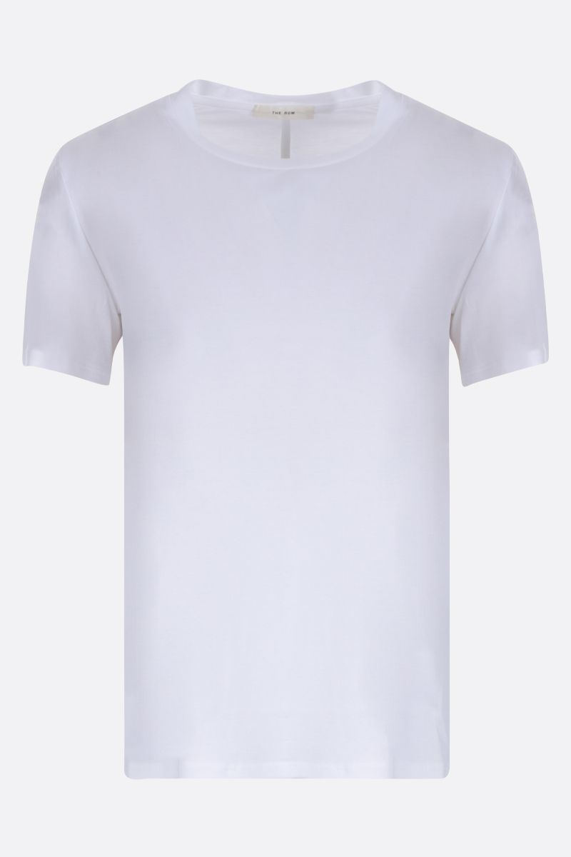THE ROW: Wesler cotton jersey t-shirt Color White_1
