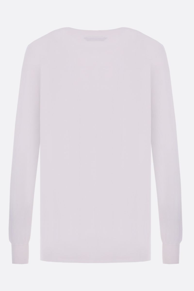 TOM FORD: cashmere silk blend lightweight pullover Color Neutral_2