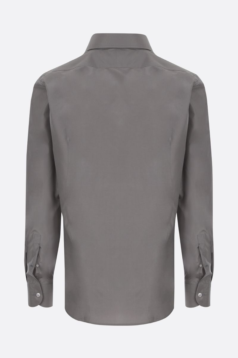 TOM FORD: cotton silk blend shirt Color Grey_2