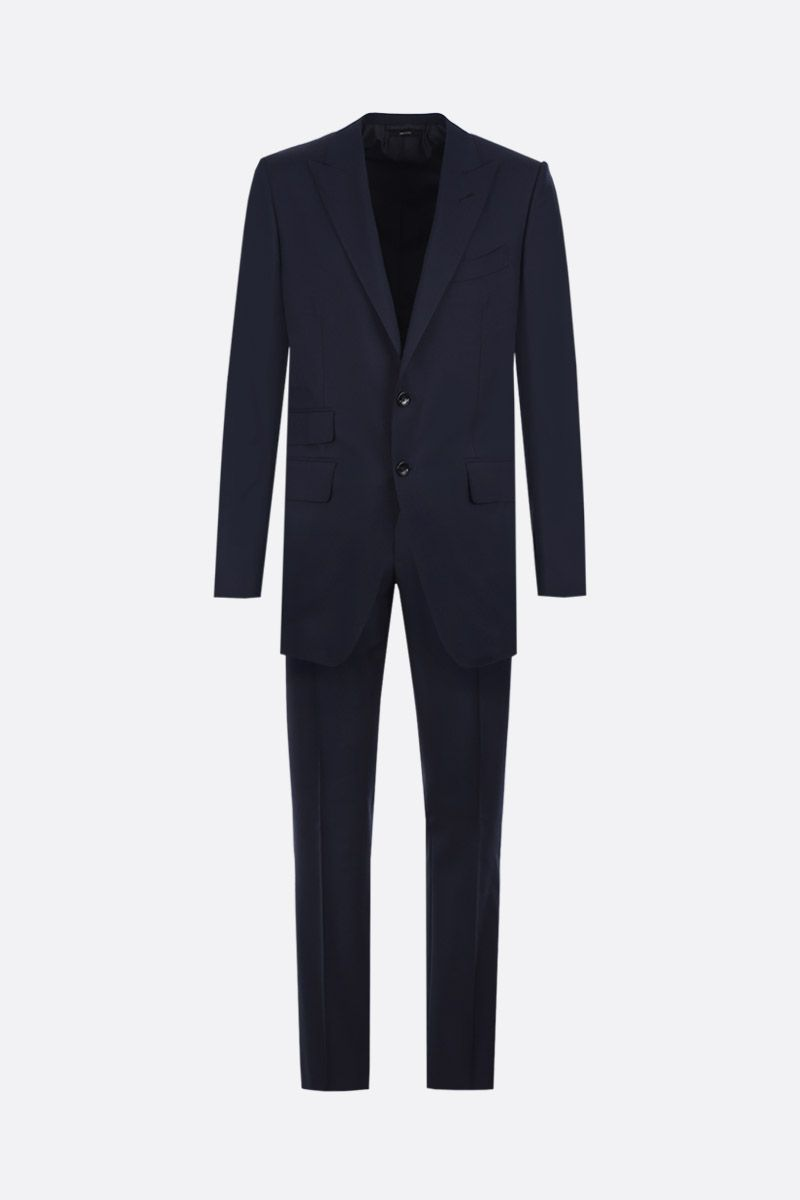 TOM FORD: O'Connor two-pieces suit in lightweight wool Color Blue_1