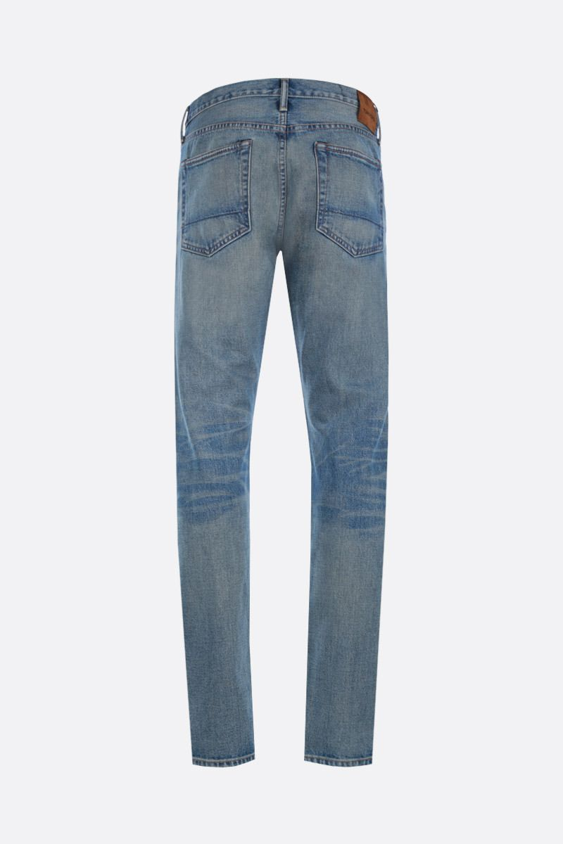 TOM FORD: jeans slim-fit Colore Blu_2