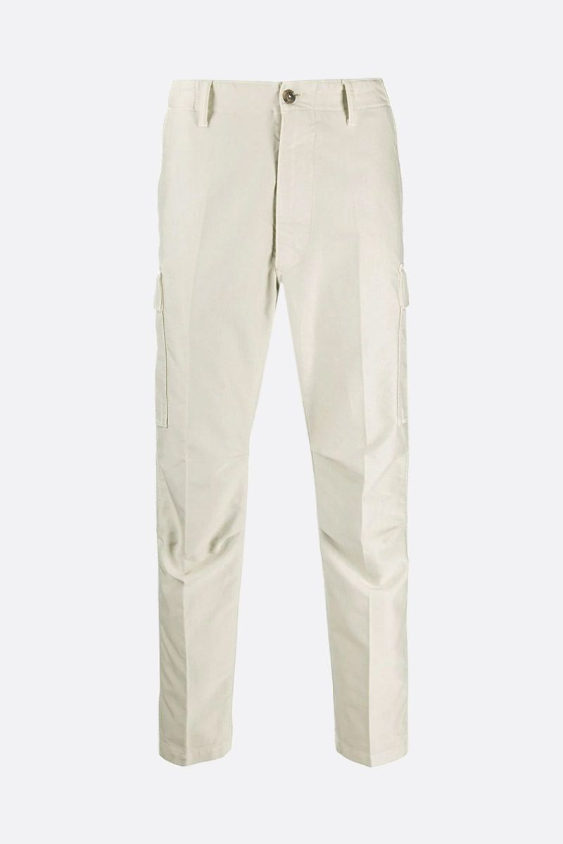 TOM FORD: cotton cargo pants Color White_1