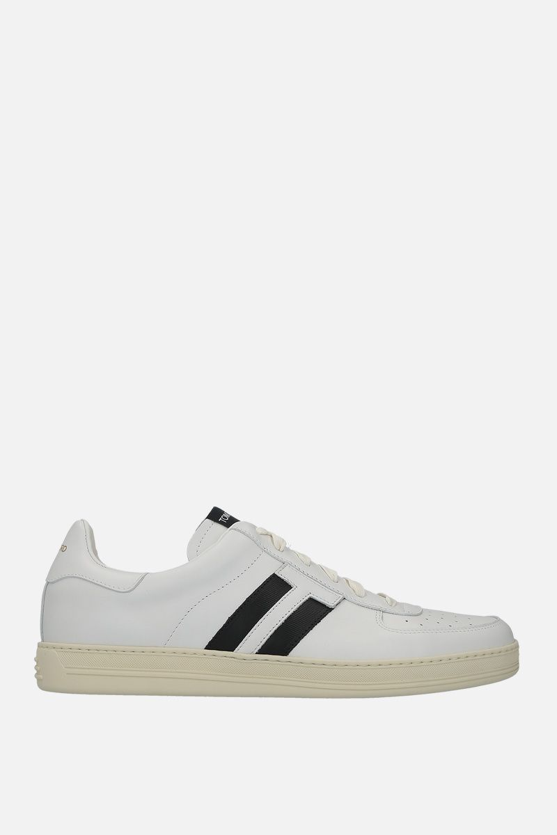 TOM FORD: Radcliffe sneakers in smooth leather Color White_1