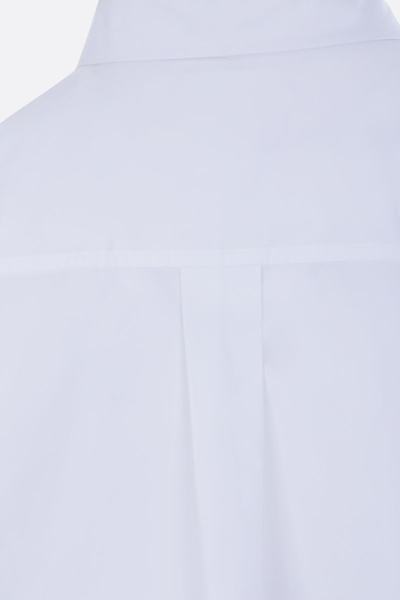 VALENTINO: cotton cropped shirt Color White_4