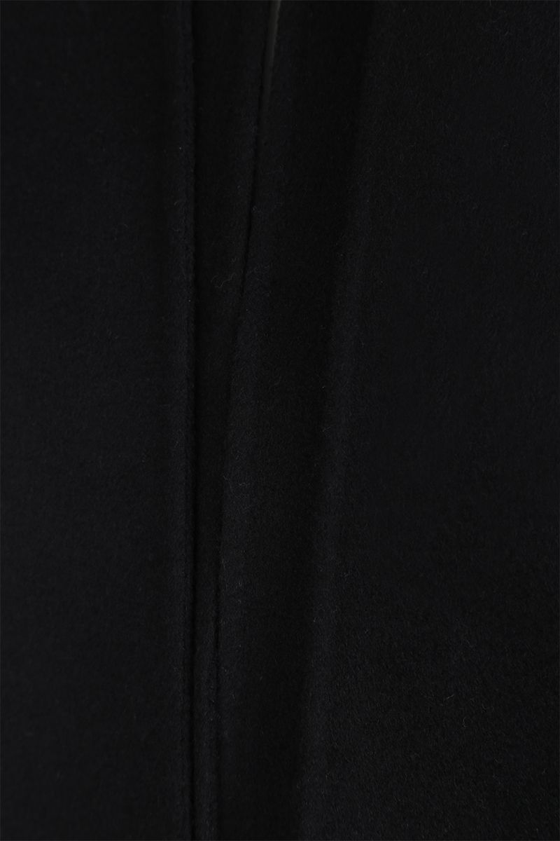 VALENTINO: single-breasted coat in Compact wool Color Black_4