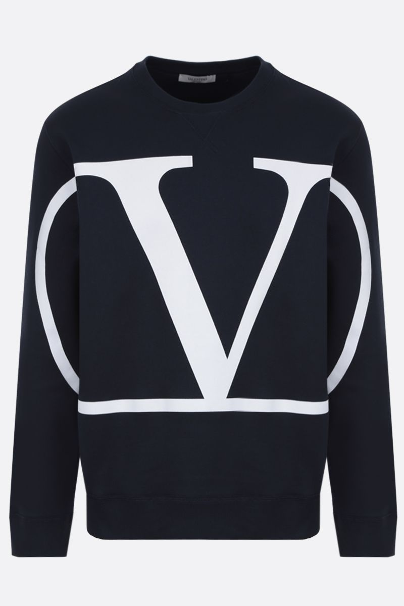 VALENTINO: VLOGO cotton blend sweatshirt_1
