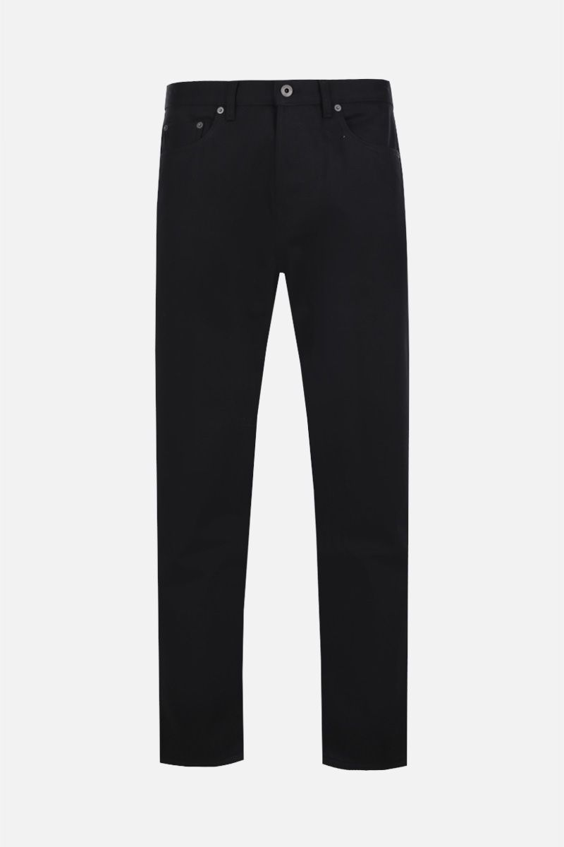 VALENTINO: VLOGO print regular-fit jeans Color Black_1