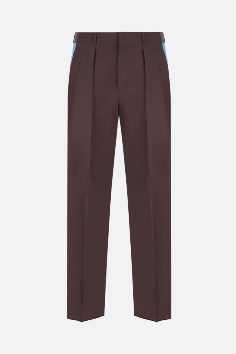 VALENTINO: darted cotton pants_1