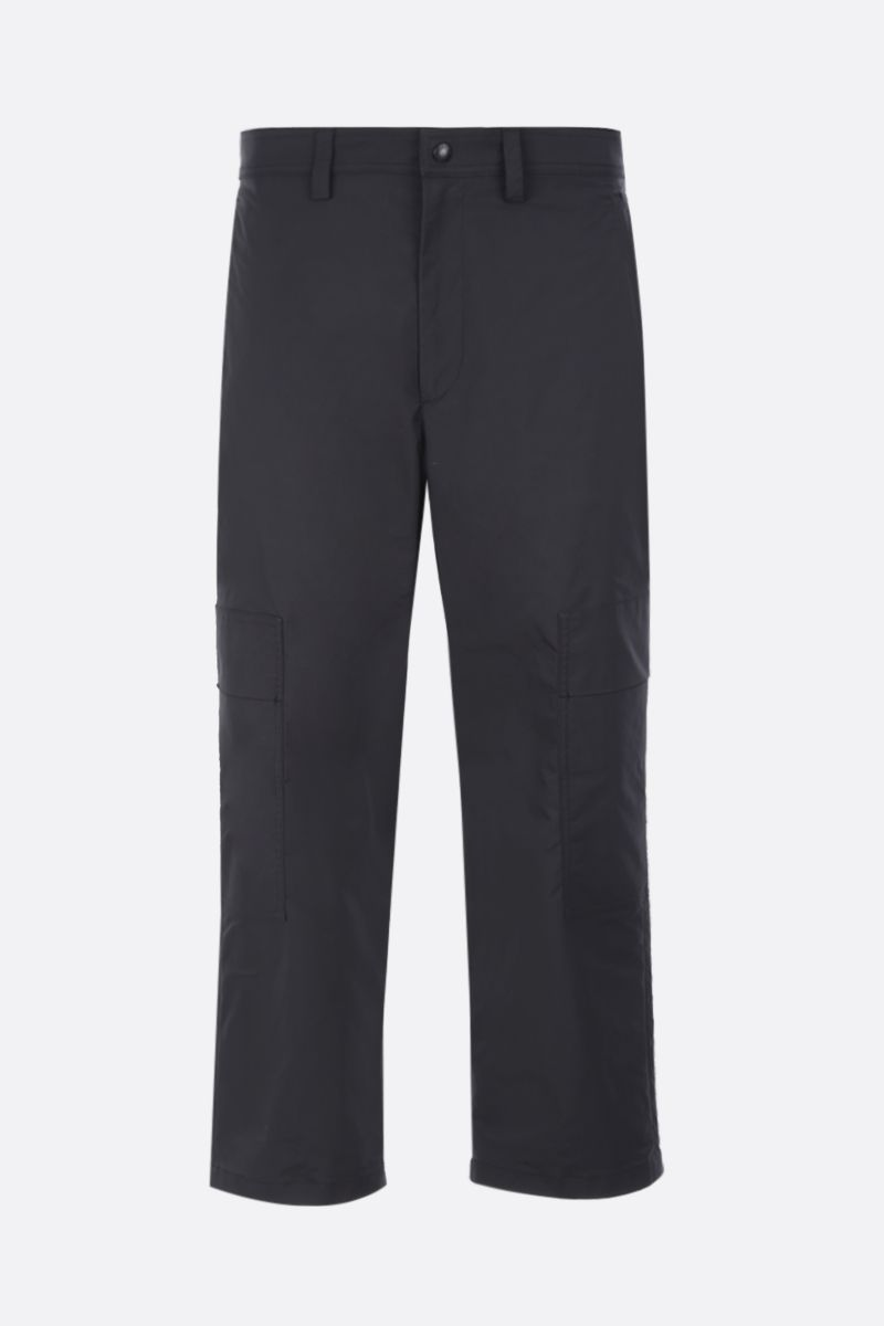 VALENTINO: nylon cargo pants Color Black_1