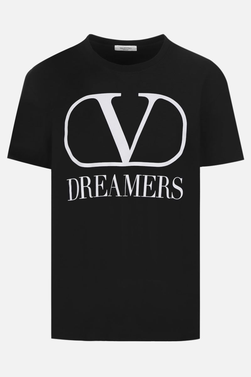 VALENTINO: VLOGO Dreamers cotton oversize t-shirt Color Black_1