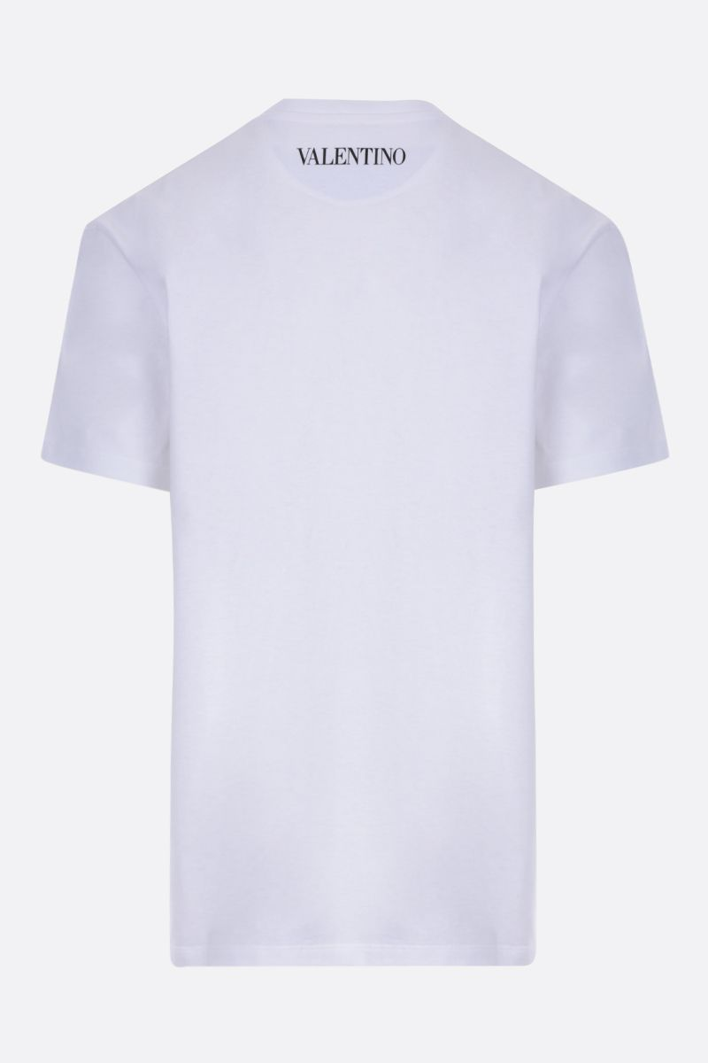 VALENTINO: Dragon at Dawn cotton t-shirt_2
