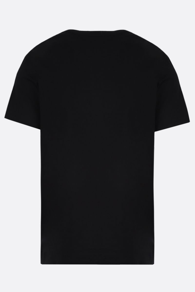 VALENTINO: Moon Dust cotton t-shirt Color Black_2