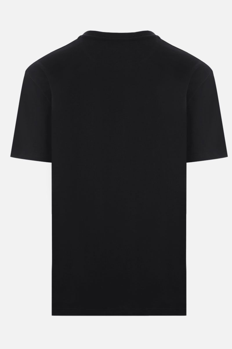VALENTINO: VLTN cotton t-shirt Color Black_2