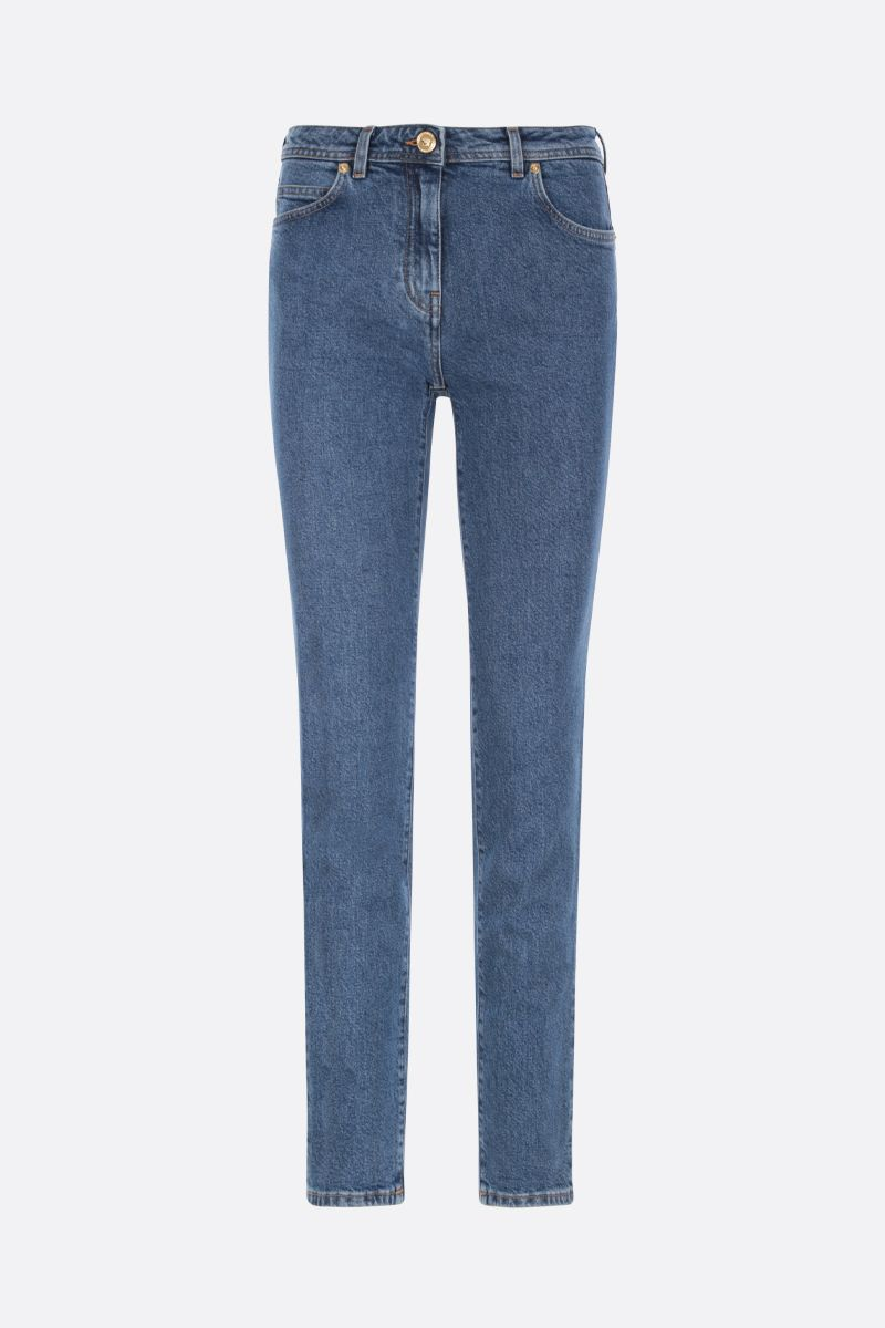 VERSACE: jeans straight-fit stampa Medusa_1