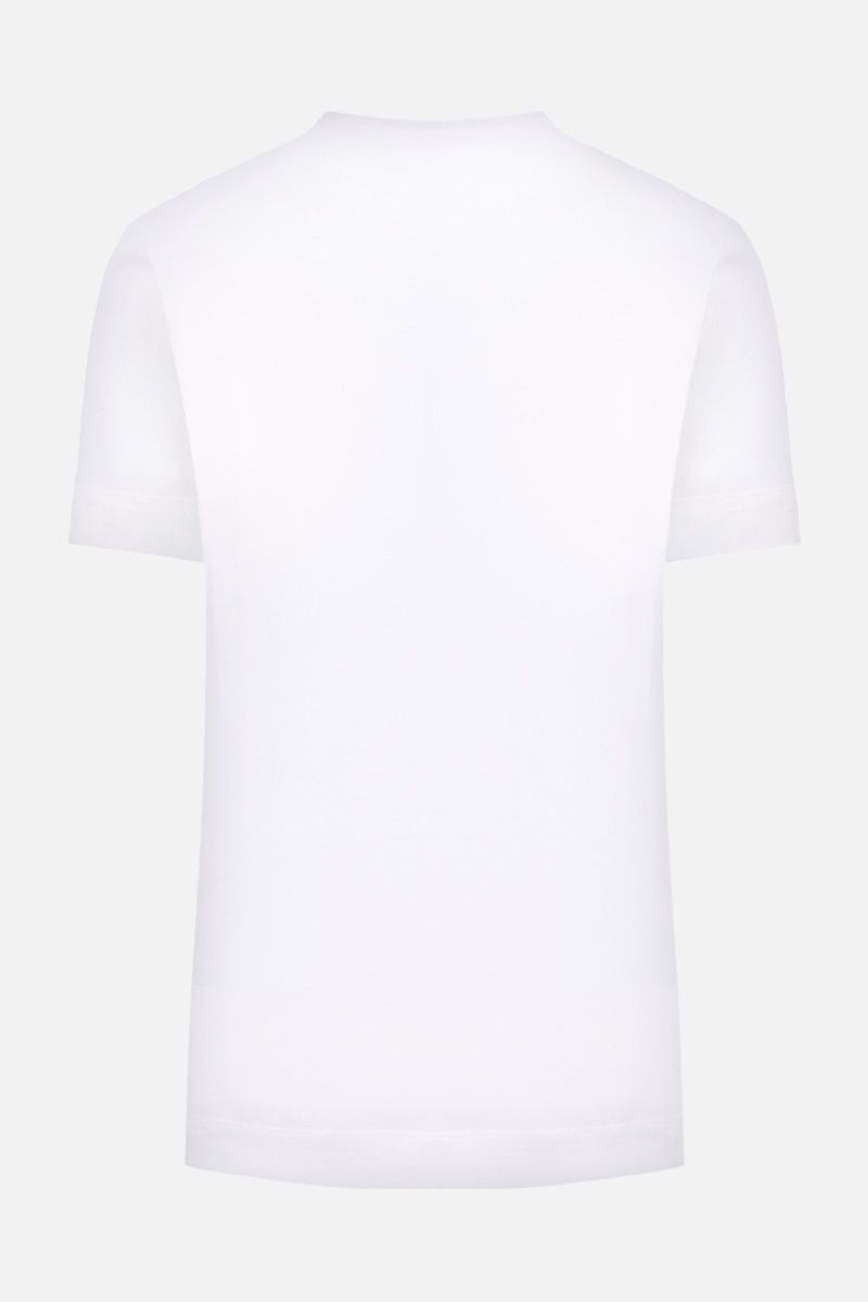 VERSACE: Medusa Signature print cotton t-shirt Color White_2