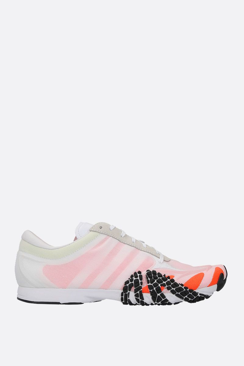 Y-3: Y-3 Rehito sneakers in mesh and suede Color White_1
