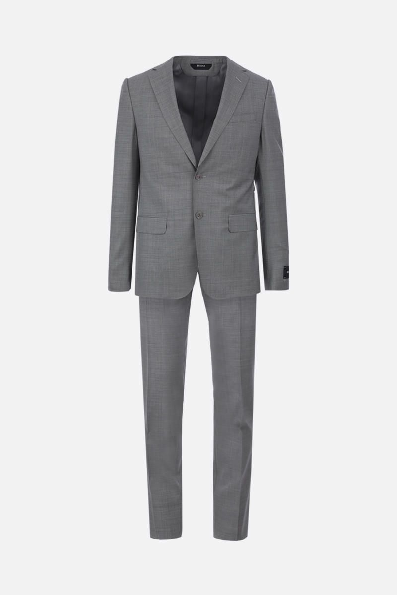 Z ZEGNA: two-pieces suit in wool Color Grey_1