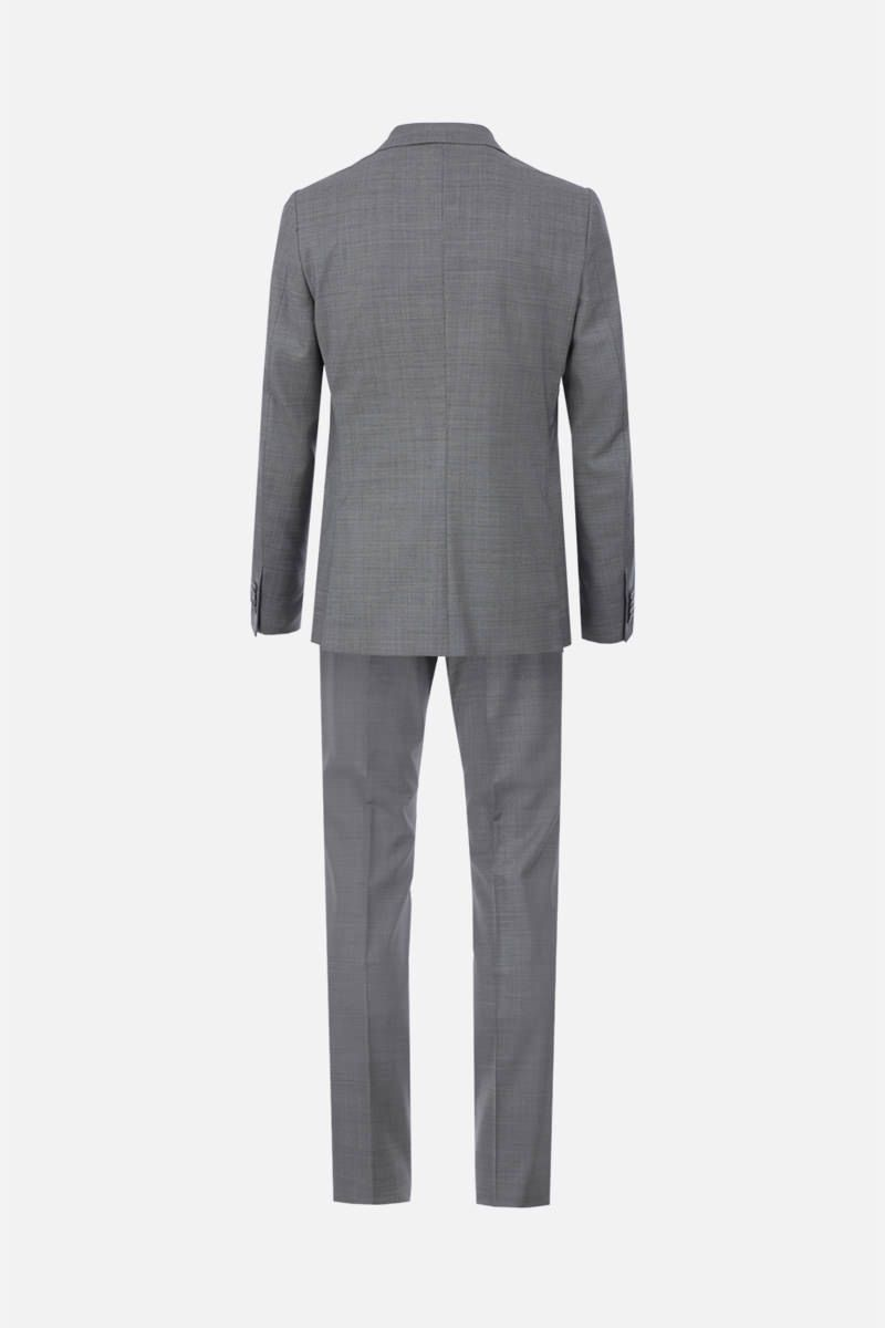 Z ZEGNA: two-pieces suit in wool Color Grey_3