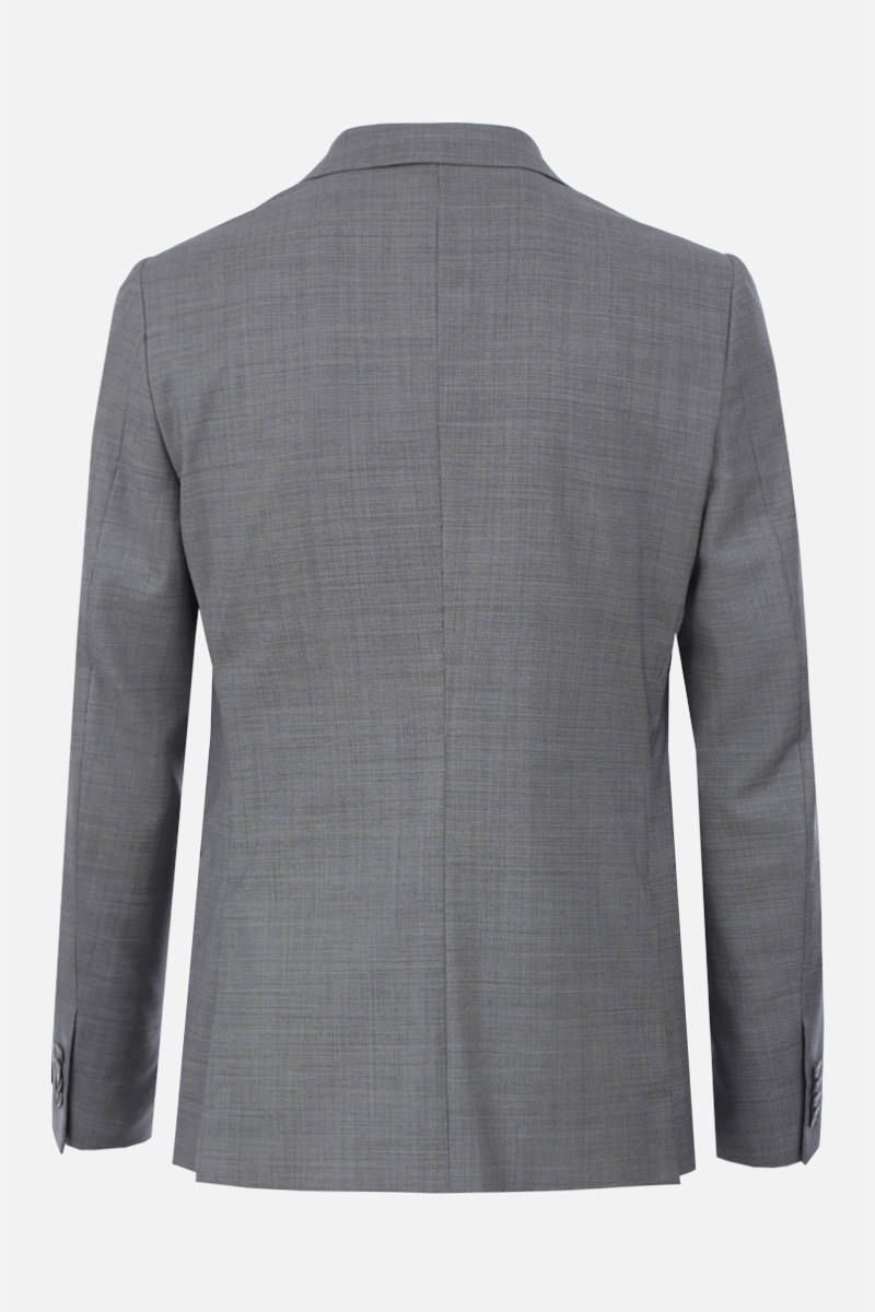 Z ZEGNA: two-pieces suit in wool Color Grey_5