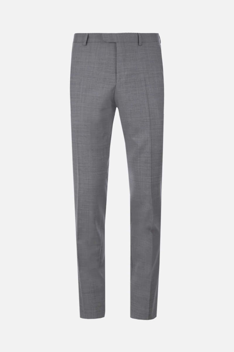 Z ZEGNA: two-pieces suit in wool Color Grey_6