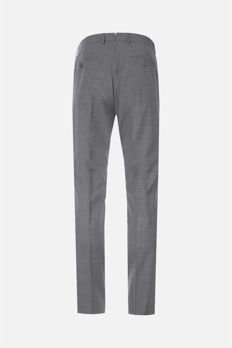 Z ZEGNA: two-pieces suit in wool Color Grey_7
