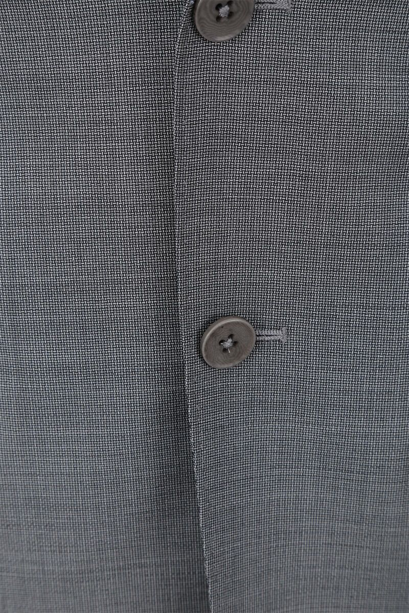 Z ZEGNA: two-pieces suit in wool Color Grey_8