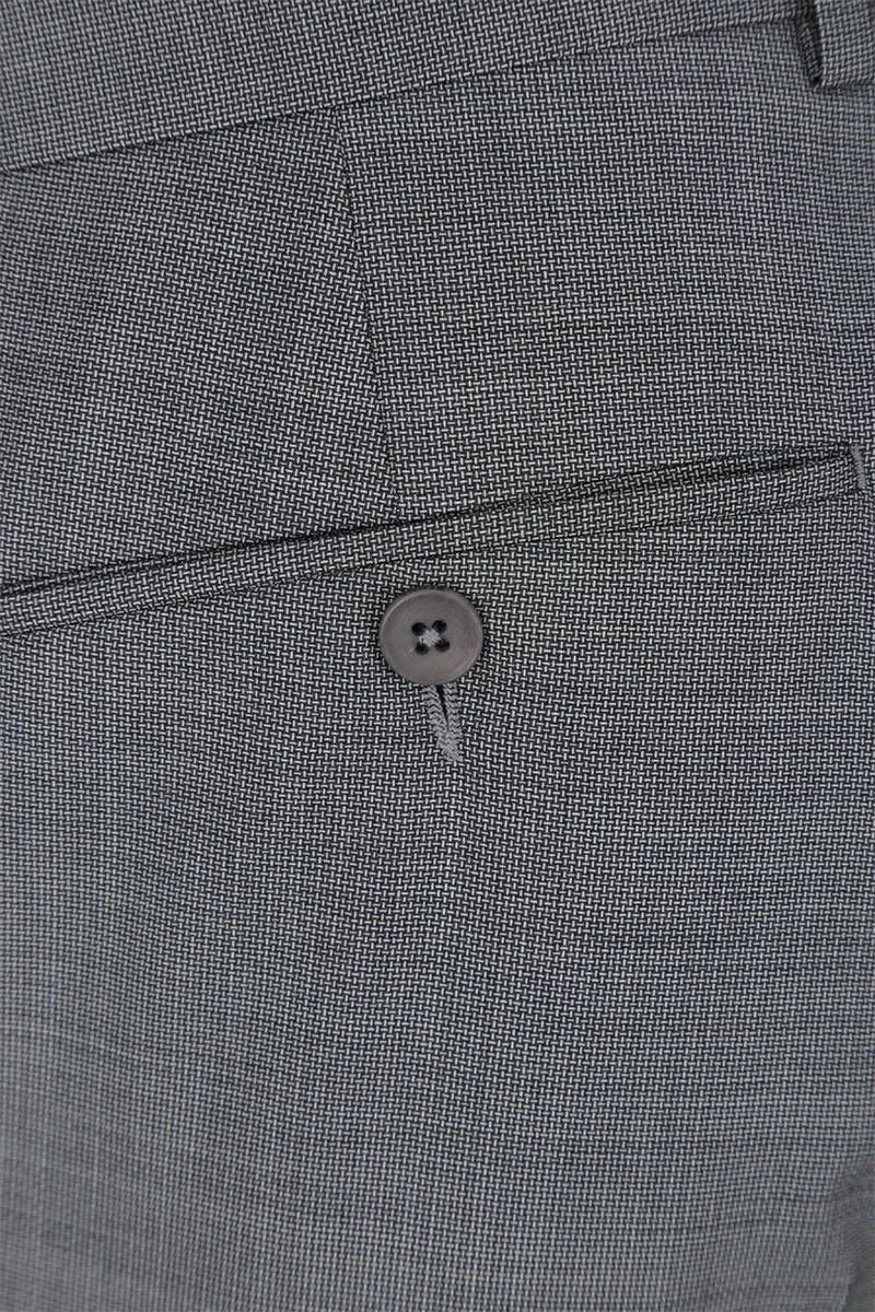 Z ZEGNA: two-pieces suit in wool Color Grey_9