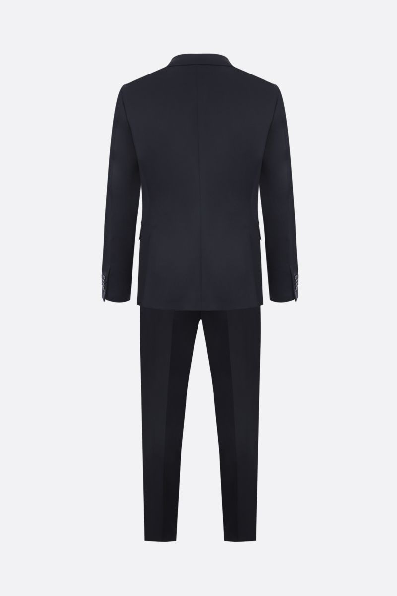 Z ZEGNA: two-pieces suit in wool mohair blend Color Blue_3