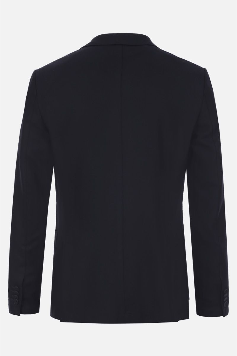 Z ZEGNA: Techmerino wool single-breasted jacket Color Black_3