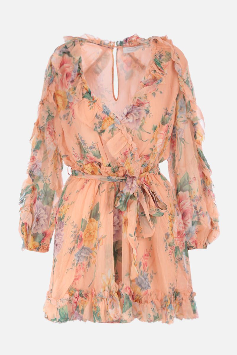 ZIMMERMANN: Zinnia jumpsuit in floral silk Color Multicolor_1