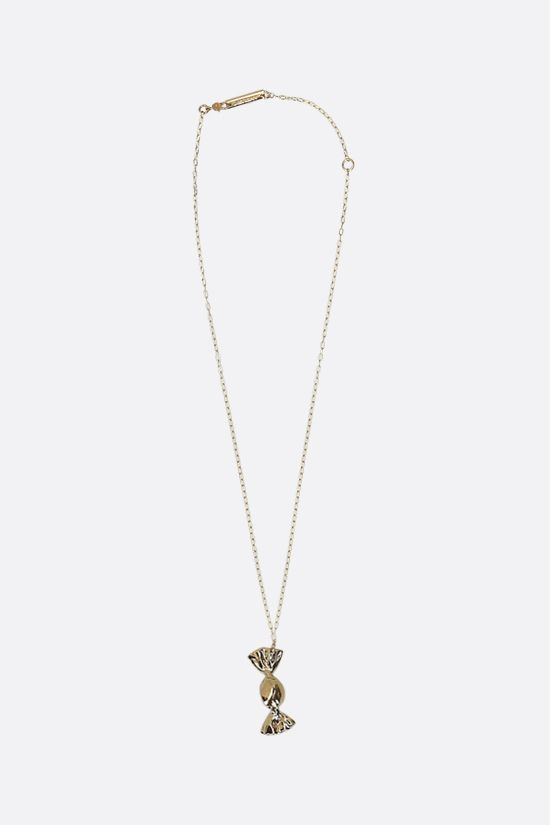 AMBUSH: Candy Charm 2 silver necklace Color Gold_1