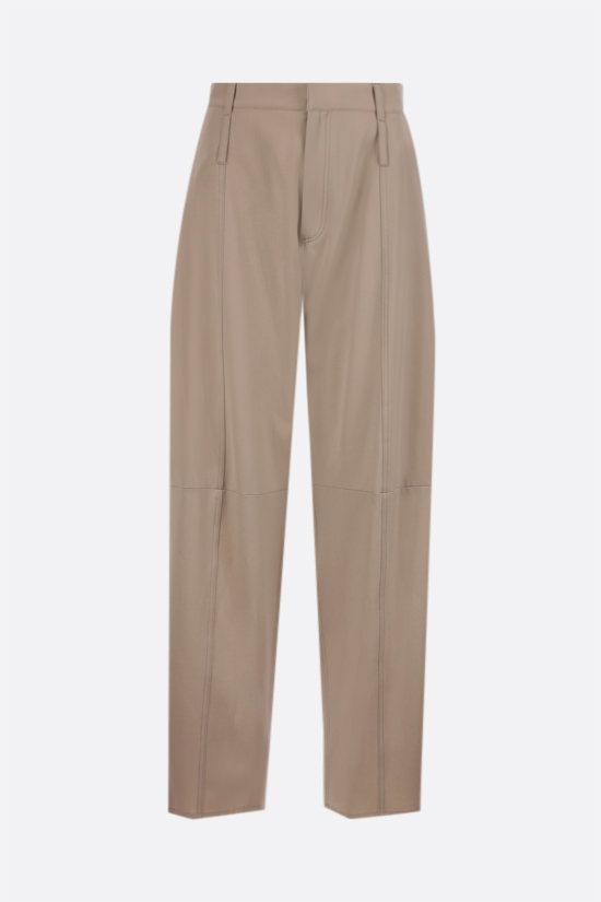 AMBUSH: technical wool tapered-fit pants Color Neutral_1