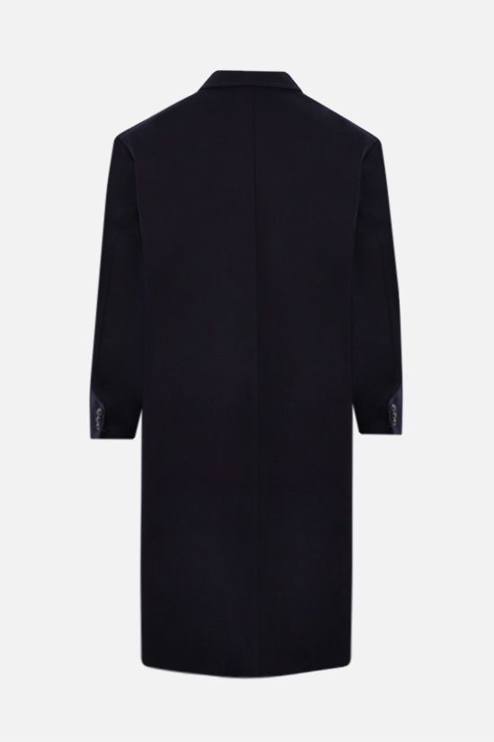 AMI PARIS: oversize cotton coat Color Blue_2
