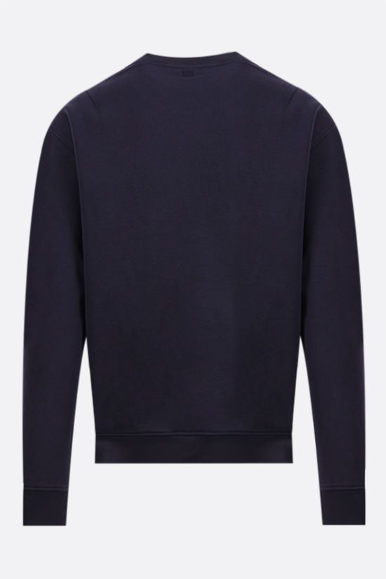 AMI PARIS: Ami de Coeur organic cotton sweatshirt Color Blue_2