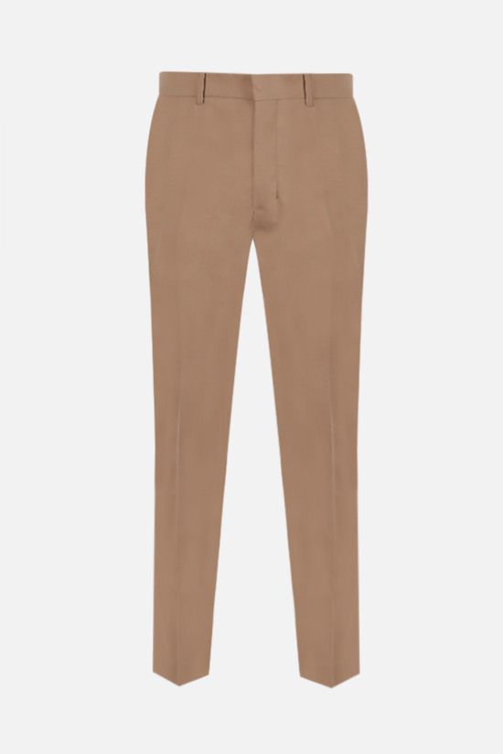 AMI PARIS: slim-fit wool pants Color Neutral_1