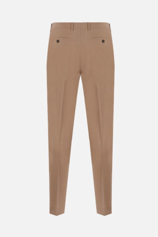 AMI PARIS: slim-fit wool pants Color Neutral_2