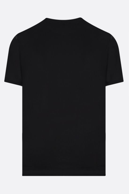 AMI PARIS: Ami de Coeur organic cotton t-shirt Color Black_2