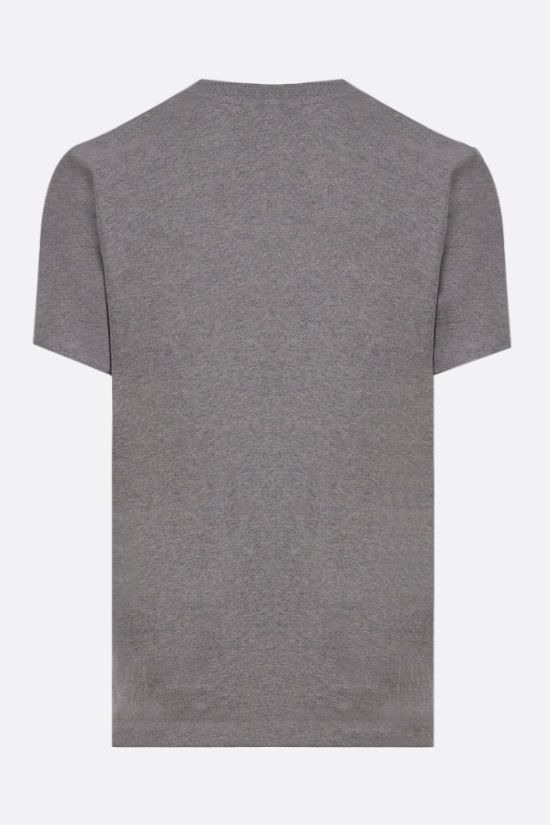 AMI PARIS: Ami de Coeur organic cotton t-shirt Color Grey_2