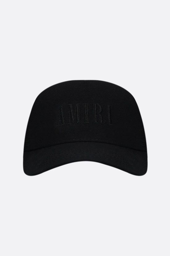 AMIRI: Amiri Core Logo canvas and mesh baseball cap Color Black_1
