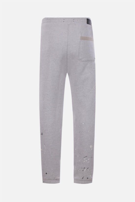 AMIRI: Army Paint cotton joggers Color Grey_2