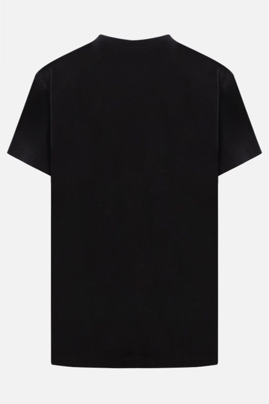 AMIRI: Palms print Amiri Varsity cotton t-shirt Color Black_2