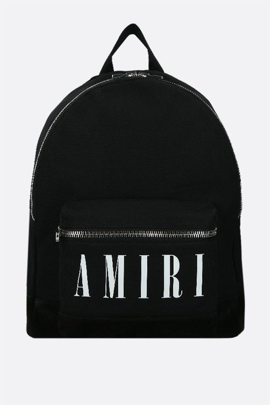 AMIRI: Core Logo canvas backpack Color Black_1