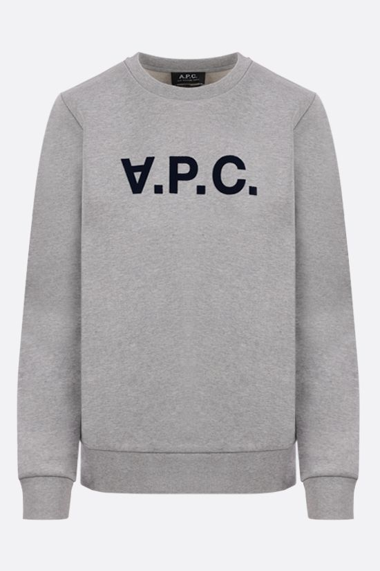 A.P.C.: VPC cotton sweatshirt Color Grey_1