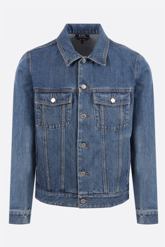 A.P.C.: Charles denim jacket Color Blue_1