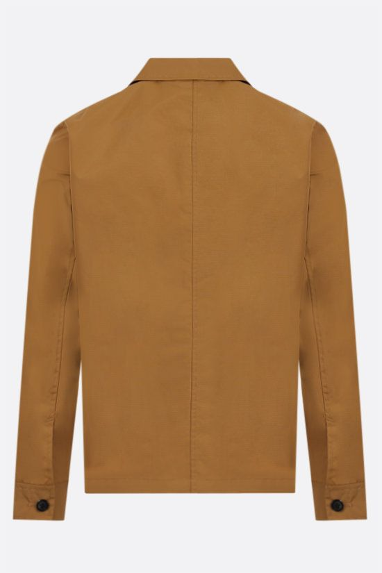 A.P.C.: Nathanael nylon ripstop overshirt Color Brown_2