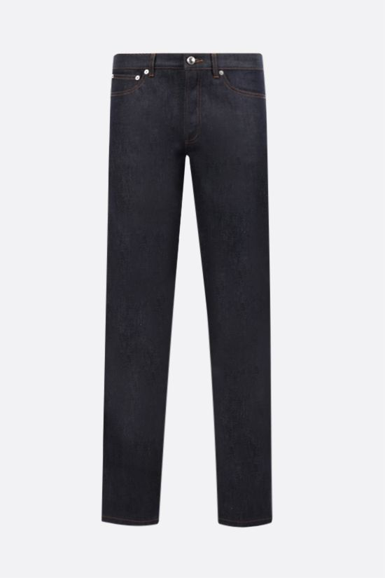A.P.C.: jeans slim-fit Petit New Standard Colore Blu_1