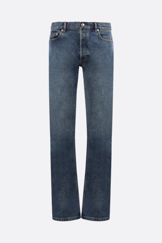 A.P.C.: New Standard straight-leg jeans Color Blue_1
