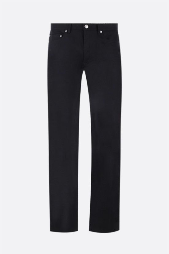 A.P.C.: New Standard straight-leg jeans Color Black_1