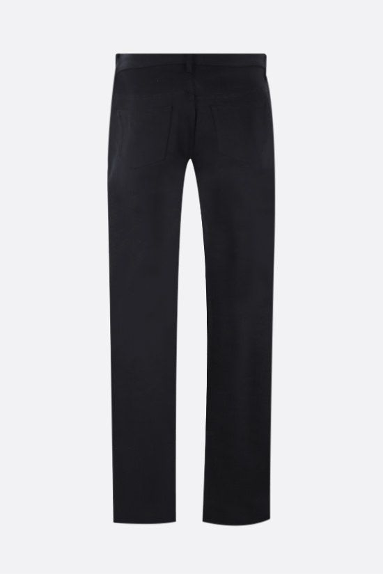A.P.C.: New Standard straight-leg jeans Color Black_2